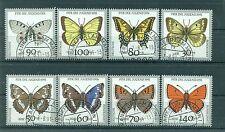 Allemagne -Germany 1991 - Michel n. 1512/19 - Papillons en voie de disparition