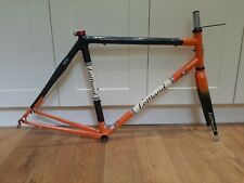 LeMond Buenos Aries carbon steel retro road bike frame 54cm seat tube