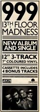 "22/10/83PGN19 999 : 13TH FLOOR MADNESS ALBUM & SINGLE ADVERT 15X5"""