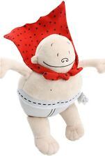 "Captain Underpants Doll by Merry Makers  8"" plush toy Stuffed Doll Book US New"