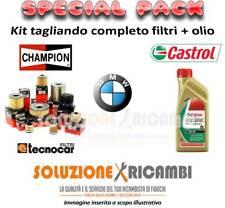 KIT TAGLIANDO FILTRI E OLIO BMW 3 Touring (E91) 320d 110KW 150CV 09/05-
