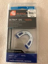 Shock Doctor Ultra 2 Stc Adult 11+ Mouth Guard - Royal Blue - New in Sealed Box
