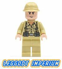 LEGO minifigure - German Soldier 2 - Indiana Jones minifig iaj005 FREE POST