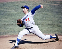 SANDY KOUFAX Photo Picture BROOKLYN DODGERS Baseball Photograph Color Print 8x10