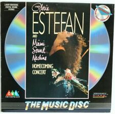 GLORIA ESTEFAN  Homecoming Concert  / ORIGINAL 1989 US LaserDisc *Excellent