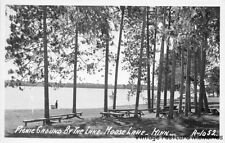 RPPC MOOSE LAKE MN 1950 Picnic Grounds by Moose Lake VINTAGE MINNESOTA GEM+++