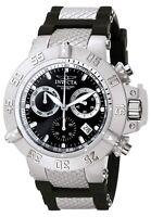 Invicta Men's Watch Subaqua NOMA III Chronograph Black Dial Two Tone Strap 5511