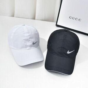 Nike Cap Quick dry Baseball cap hat Sports golf Adjustable cap Sunhat Peaked cap