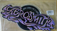 EX/EX! AEROSMITH DUDE LOOKS LIKE A LADY Shaped Vinyl Picture Pic Disc LOGO