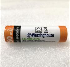 4pc 3.2V Westinghouse 14500 AA 250mAh Lifepo4 battery