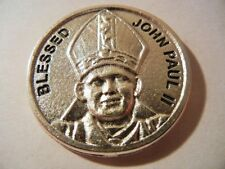 "Pope John Paul II Medal Token with Prayer New! MADE IN ITALY!  ""Have No Fear..."""