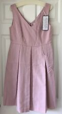 J Crew Kami dress classic faille 8 $200 Lavender A1450 Party Bridesmaid Pockets