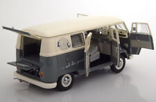 Schuco 1962 Volkswagen VW T1b Bus Gray/Creme 1/18 Scale LE of 300 New Release!