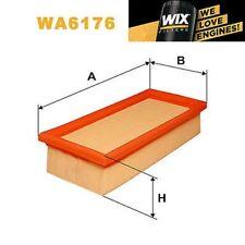 1x FILTRO DE AIRE WIX wa6176 - equivale a Fram ca3144