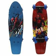 "Playwheels Spider-Man  21"" Skateboard Blue"