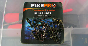 Pike Pro Run Rings 10 per pack  *PAY ONE POSTAGE*