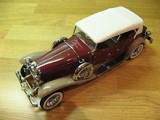 Franklin Nuovo di zecca 1930 DUESENBERG J derham tourster 1.24 SCALA Quasi Nuovo cond in scatola.