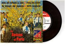 """LES GOSSES DE PARIS """"EN SIFFLANT UNE CHANSON""""  EX / EX  N° 514  EP45 + LANGUETTE"""