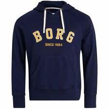 """Bjorn Borg mannen """"BORG"""" trainingspak hoodie, Sverige kleuren"""