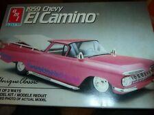 AMT 6897 1959 CHEVY EL CAMINO 3n1 1/25 Model Car Mountain Nib kit