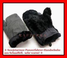 Original Russische Rote Sowjet Armee Winter Uniform Handschuhe aus Schaaffell