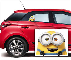 Despicable Minion Colour Home Vinyl Decal Window Sticker Car Laptop Wall B 187