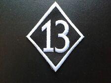 UNLUCKY 13  OLD STYLE BIKER PATCH OUTLAW CAFE RACER BOBBER ROCKER UK SELLER