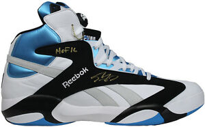 Shaquille O'Neal signed Shaq attaq sneaker Size 22 ins HOF 16 Auto Steiner COA