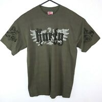 Shortys Skateboards Vintage 90's Skate T-Shirt Mens Size M Dark Green