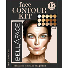 15 Colors Concealer kit Palette with Brush Face Makeup Contour Cream, Palette UK
