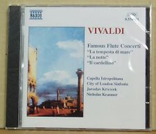 CD Vivaldi Famous Flute Concerti  Krecek Kraemer Naxos 1997 neu & ovp
