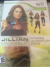 Wii Jillian Michaels Fitness Ultimatum 2009 Brand New Sealed