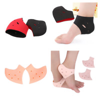 Silicone PLANTAR FASCIITIS Protect Heel Spur Ankle Gel Support Pain Relief C~@