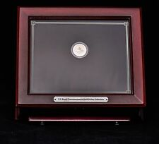 Mahogany box for U.S. Proof Commemorative Half-Dollar Collection 1 coin included