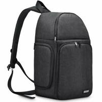 NEW Camera Bag Case Waterproof Sling Backpack for Canon Nikon Sony Pentax DSLR