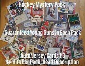 Hockey Mystery Pack! McDavid YG Chase, 3 Hits PerPack, 1 YG Guaranteed, 50+ Sold