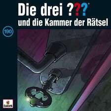 CD * DIE DREI ??? (FRAGEZEICHEN) - 190 - UND DIE KAMMER DER RÄTSEL # NEU OVP =