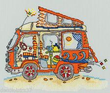 Sew Dinky VW Van - Bothy Threads XSD2 - Kit de Broderie au point de croix compté