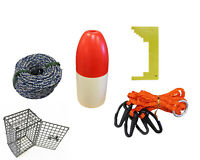 KUFA Crabbing Accessory kit (Lead Rope,Clipper,Harness,Bait cage & Float) CES-1