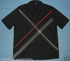 Poker Stars / MENS black button-up polo Shirt. Size: 2XL / 2TG