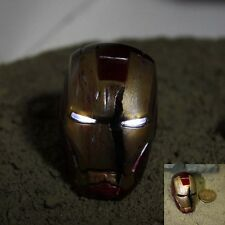 HOT 1/6 TOYS Eyes may shine Iron man 3 Scene  Battle damage helmet Can't wear