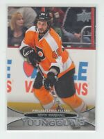 (72132) 2011-12 UPPER DECK YOUNG GUNS KEVIN MARSHALL #488 RC