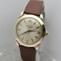 Vintage Longines Wittnauer 2070-SW Men's Automatic watch 11ARG  swiss 1950s