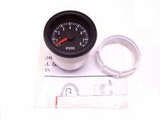RSR Drehzahlmesser 52 8000umin Zusatz Instrument Retro Look RPM Gauge 12V 2 takt