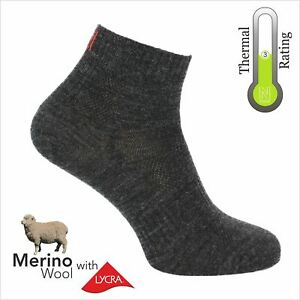 Fast & Light QTR Length, Merino Wool Walking Socks (2K) By Norfolk - Sheldon QTR