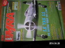 MRA n°829 plan encarté Mini Strela / YAK 11 C17 Globemaster III Super Tucano