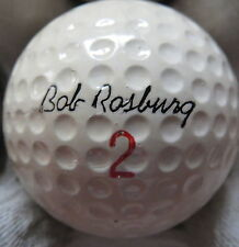 (1) BOB ROSBURG SIGNATURE LOGO GOLF BALL ( MADE IN USA CIR 1966) #2
