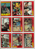 1985 Topps Baby Movie Trading Card Set of 66 Cards Dinosaurs