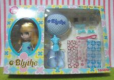 Takara Tomy CWC 11cm 1/12 Petite Blythe Doll Sewing My Way Blue