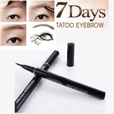 Brown 7 Days Eye Brow Liner Eyebrow Liquid Tattoo Pen Pencil Long Lasting Lot#TA